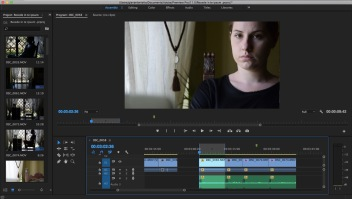 Video editing - Screenshot from Premiere Pro CC